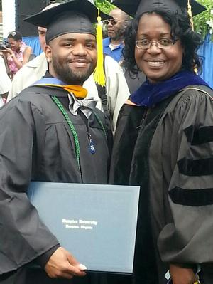 Jenaqua and Dr. Claville