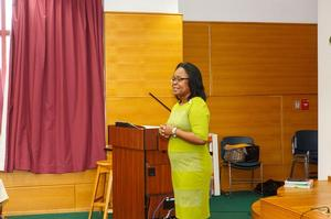 Dr. Michelle Claville - NanoHU Project Director